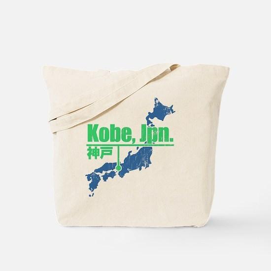 Vintage Kobe Tote Bag