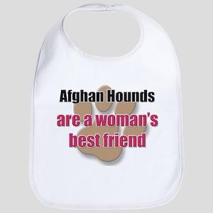 Afghan Hounds woman's best friend Bib