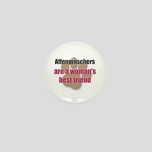 Affenpinschers woman's best friend Mini Button