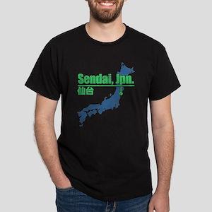Vintage Sendai Dark T-Shirt