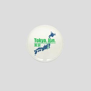 Vintage Tokyo Mini Button