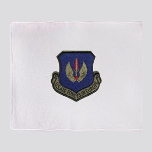 USAFE, united states air forces in e Throw Blanket