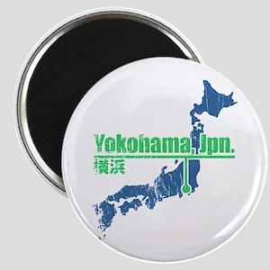 Vintage Yokohama Magnet