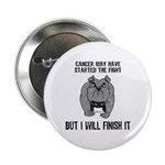 """Cancer Started the Fight 2.25"""" Button (10 pac"""