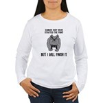 Cancer Started the Fight Women's Long Sleeve T-Shi