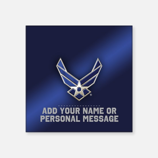 PERSONALIZED U.S. Air Force Logo Sticker