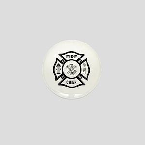 Fire Chief Mini Button