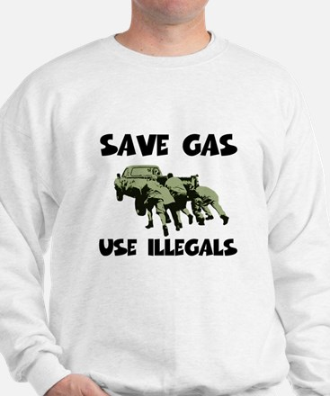 Right Wing funny gas prices Sweatshirt