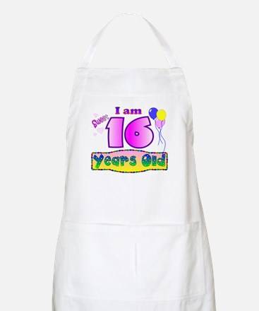 Sweet 16 Birthday BBQ Apron