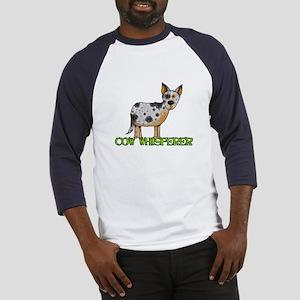cow whisperer Baseball Jersey