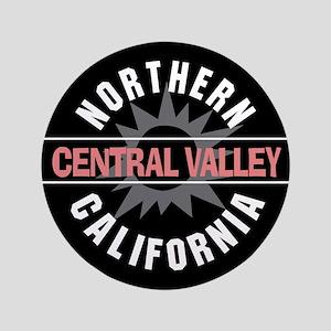 """Central Valley California 3.5"""" Button"""