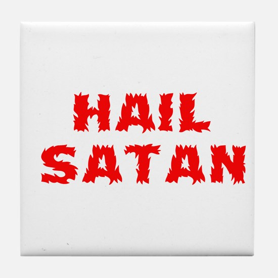 Hail Satan Tile Coaster