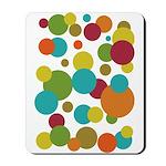 Retro Dots Mousepad