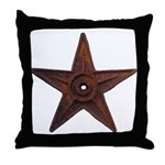 Old #1 Wiki Barnstar Throw Pillow