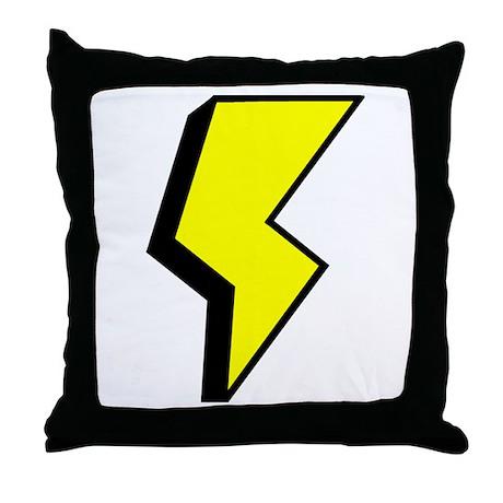 'Lightning Bolt' Throw Pillow