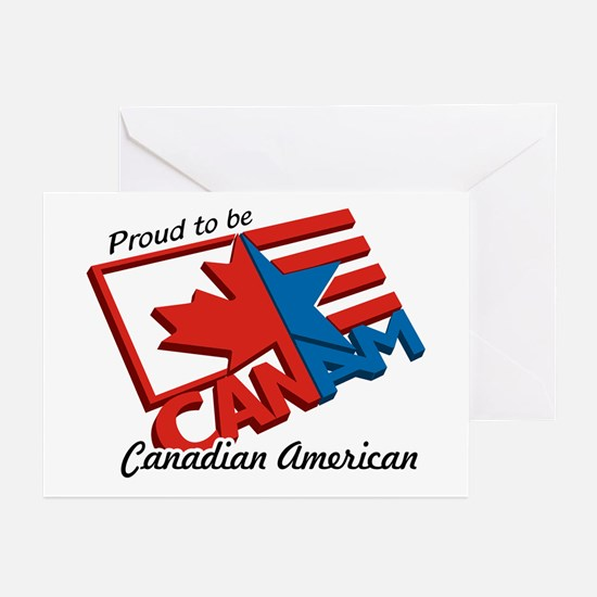 """""""CANAM"""" Greeting Cards (Pk of 10)"""