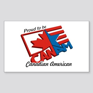 """CANAM"" Rectangle Sticker"