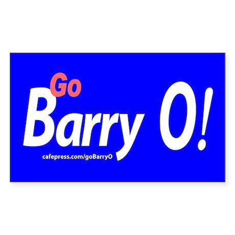 Go Barry O! Sticker