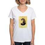 Jim Masterson Women's V-Neck T-Shirt