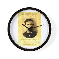 Jim Masterson Wall Clock