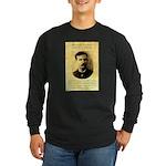 Jim Masterson Long Sleeve Dark T-Shirt