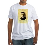 Jim Masterson Fitted T-Shirt