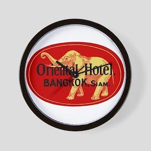 Oriental Hotel Bangkok Wall Clock