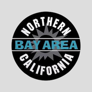 """Bay Area California 3.5"""" Button"""