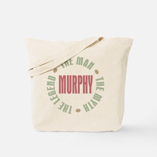 Murphy Man Myth Legend Tote Bag
