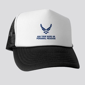 PERSONALIZED U.S. Air Force Logo Trucker Hat
