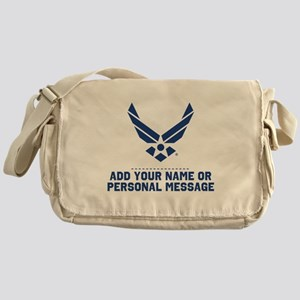 PERSONALIZED U.S. Air Force Logo Messenger Bag