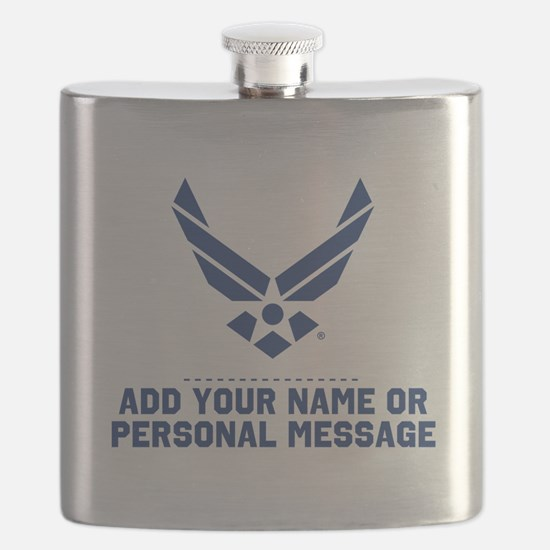 PERSONALIZED U.S. Air Force Logo Flask