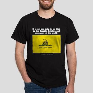 Not Our Duty Gadsden Dark T-Shirt