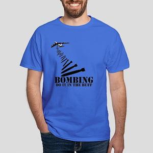 B-52 Bomber Buff themed Dark T-Shirt