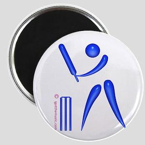 Cricket Blue Magnet