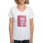 Tesla-2 Women's V-Neck T-Shirt