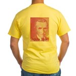 Tesla-2 Yellow T-Shirt