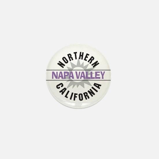 Napa Valley California Mini Button
