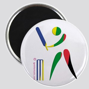 Cricket Olympic Magnet