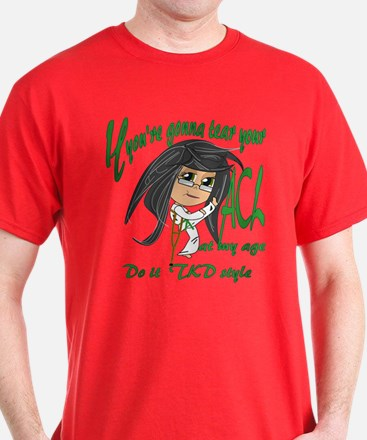 Tae Kwon Do Torn ACL T-Shirt