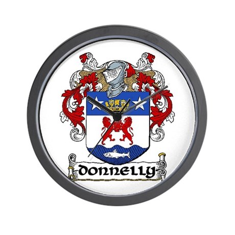 Donnelly Coat of Arms Wall Clock