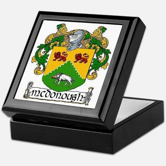 McDonough Coat of Arms Keepsake Box
