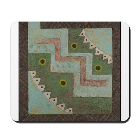 THE MYSTERY OF FOUR Mousepad