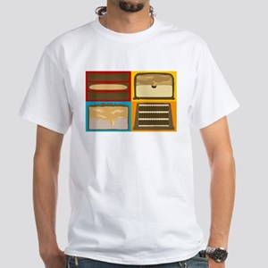 Candybar CrossSection Color White T-Shirt