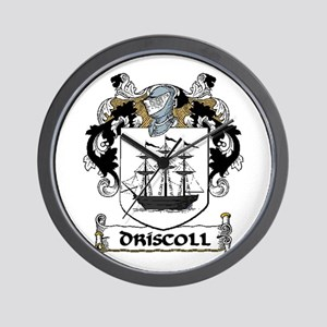 Driscoll Coat of Arms Wall Clock