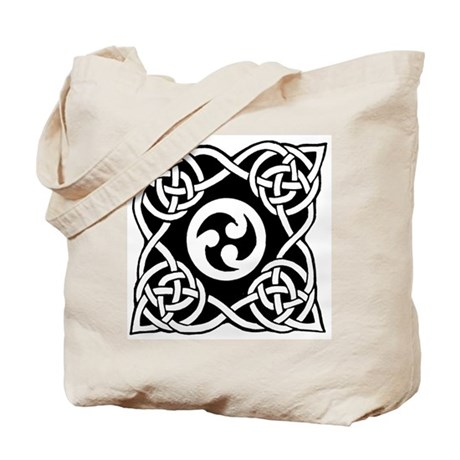 Celtic Knot Trinity Tote Bag