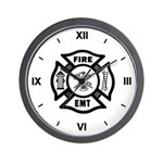 Firefighter EMT Wall Clock