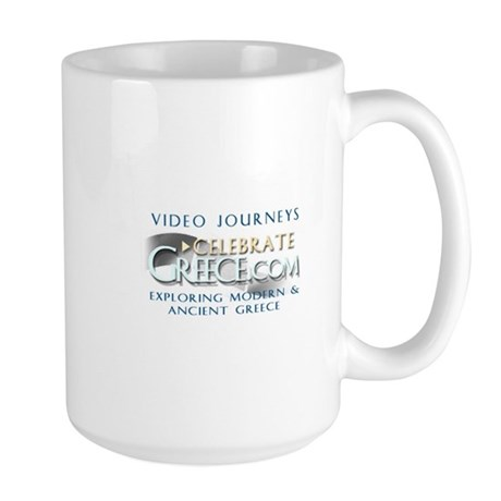 Large Greek Mug