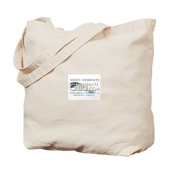 Tote Bag for Greek Food Shopping