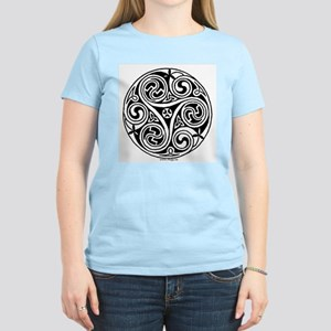 Celtic Swirl Women's Pink T-Shirt